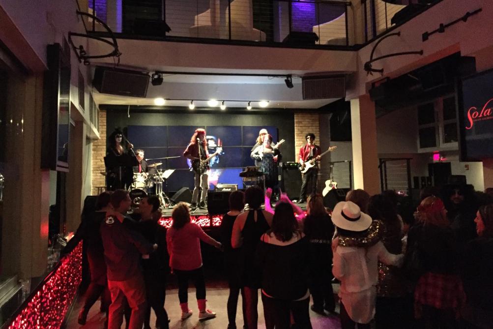 Hurricane Karaoke at CODE 42 event