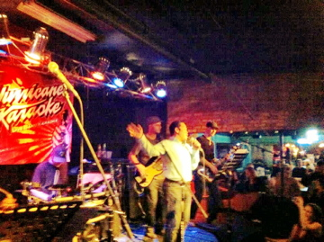 Hurricane Karaoke at Whiskey Junction